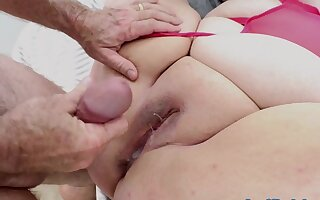 Plumper Camgirl Curvy Mary Gets Fucked Hard be fitting of Their way Audience