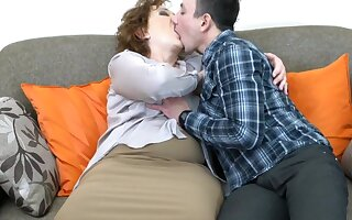 Very lusty redhead granny wishes sex as 30 years ago