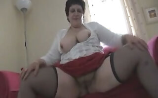 Busty Aged large gorgeous woman
