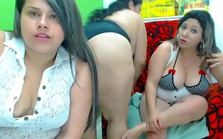 paola amira secret movie scene on 01/24/15 16:53 from chaturbate