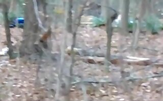 The forest nympho roleplay action. i'm the stranger that busts her and gets lucky !!!