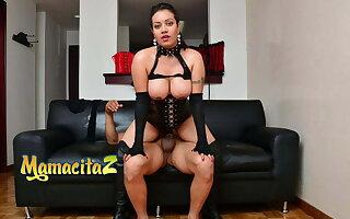 MAMACITAZ Sexy Femdom Latina Zulima Serna Rides Masked Sweetheart