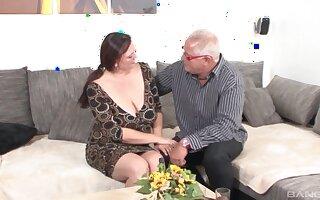 Lord it over adult slut Inge enjoys riding her husband's big Hawkshaw